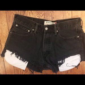 Levi's Cut Off Jeans Shorts